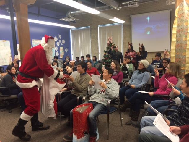 Christmas Santa visit 1