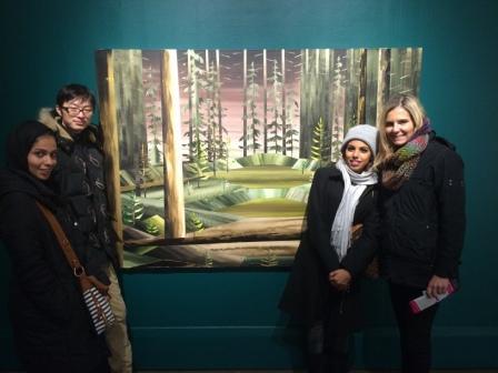 Visit to Art Museum 2